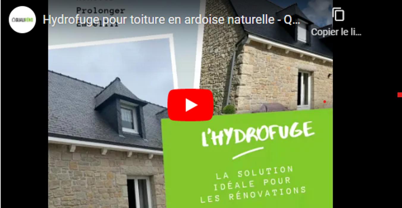 Hydrofuge pour toiture en ardoise naturelle -Rénovation 0