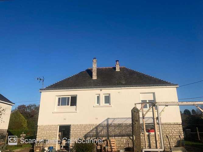 Hydrofuge sur toiture - Plouray 1