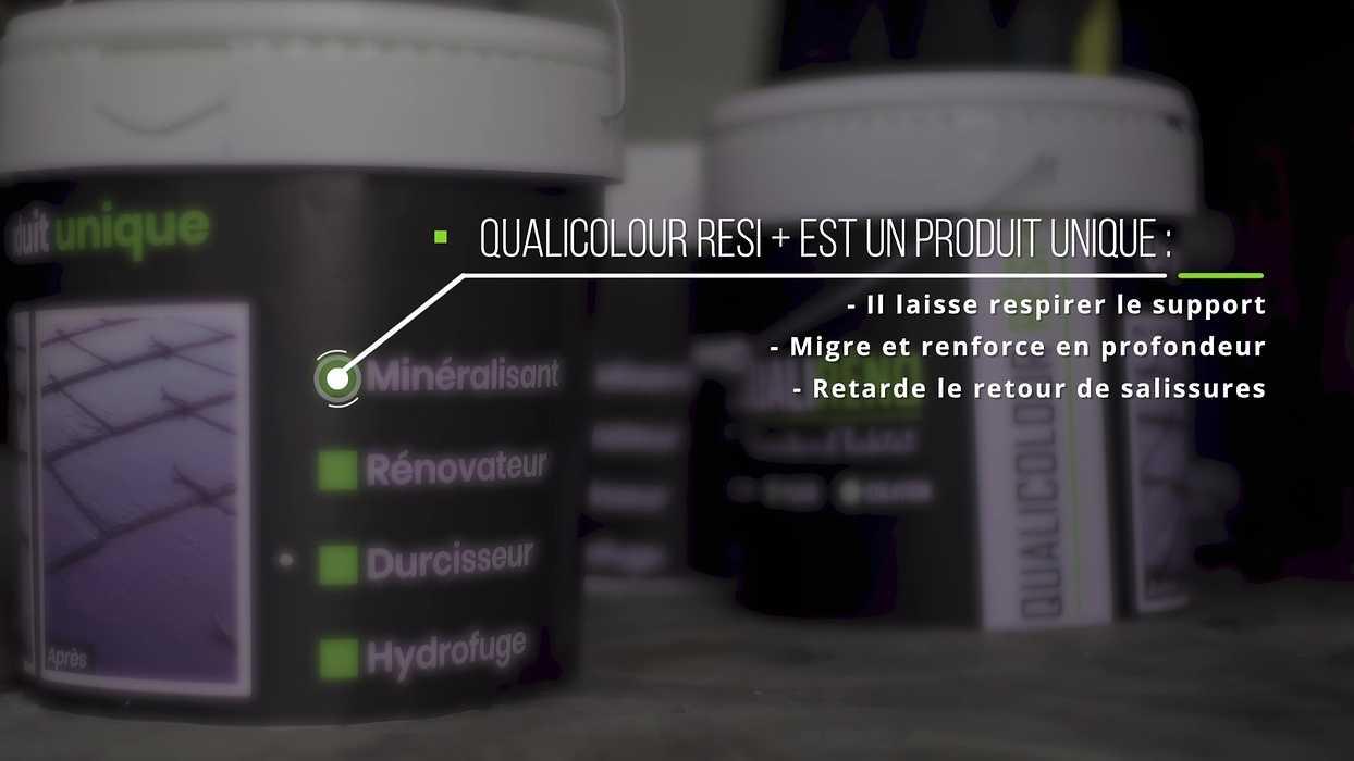 Le traitement Qualicolour resi + : contre l''oxydation des crochets et des ardoises 0